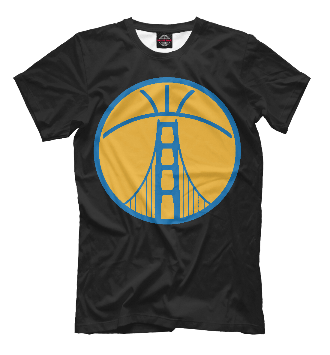 Купить Golden State Warriors, Printbar, Футболки, NBA-619471-fut-2