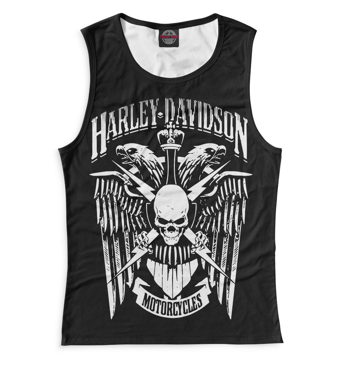 Купить Harley Davidson Motorcycles, Printbar, Майки, MTR-575884-may-1