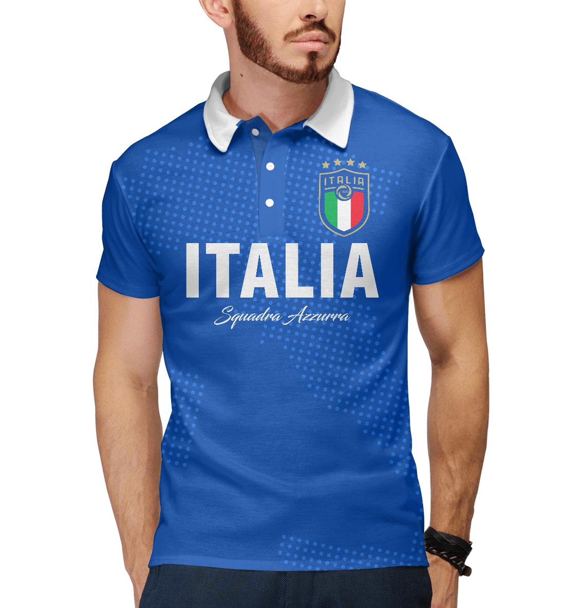 Купить Италия, Printbar, Поло, FNS-186686-pol-2