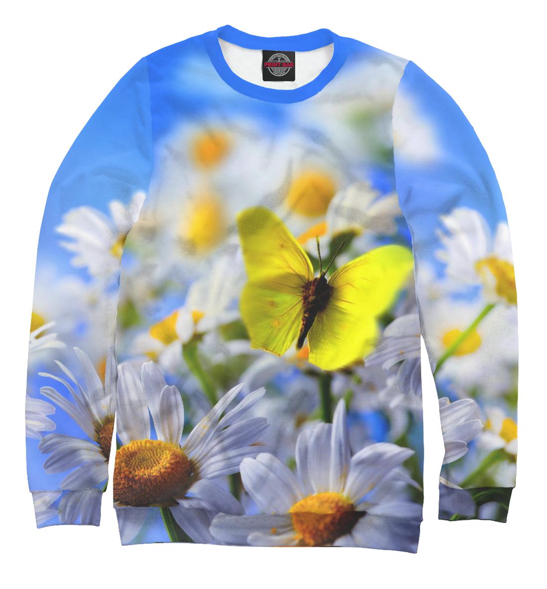 Купить Бабочки и нарциссы, Printbar, Свитшоты, NAS-164932-swi-2