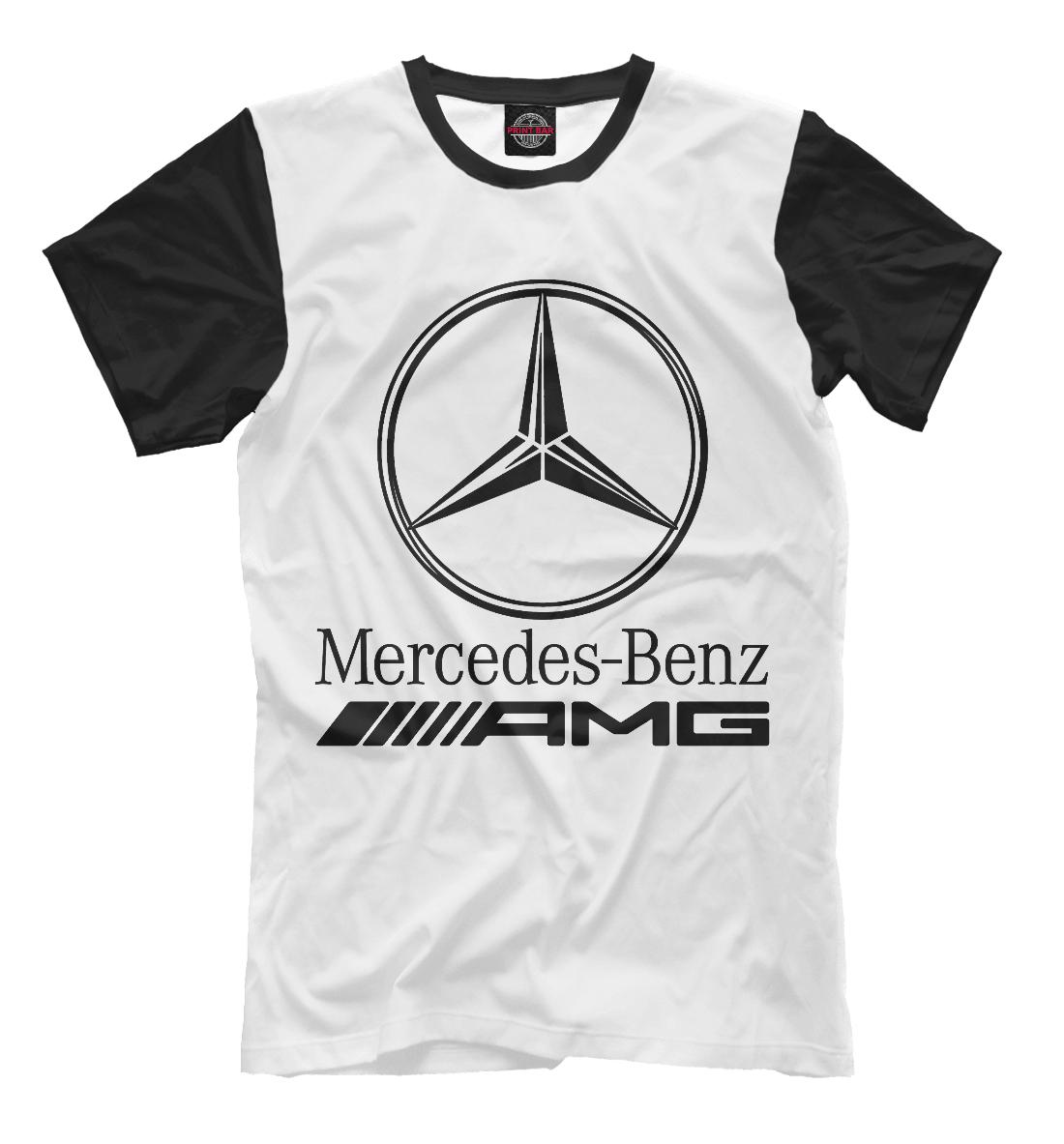 Купить Mercedes-Benz AMG, Printbar, Футболки, MER-912174-fut-2