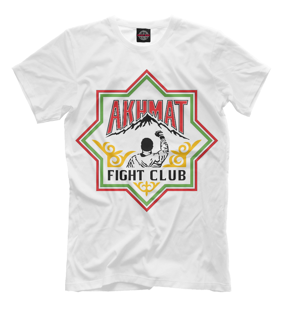 Купить Akhmat Fight Club, Printbar, Футболки, AFC-812098-fut-2