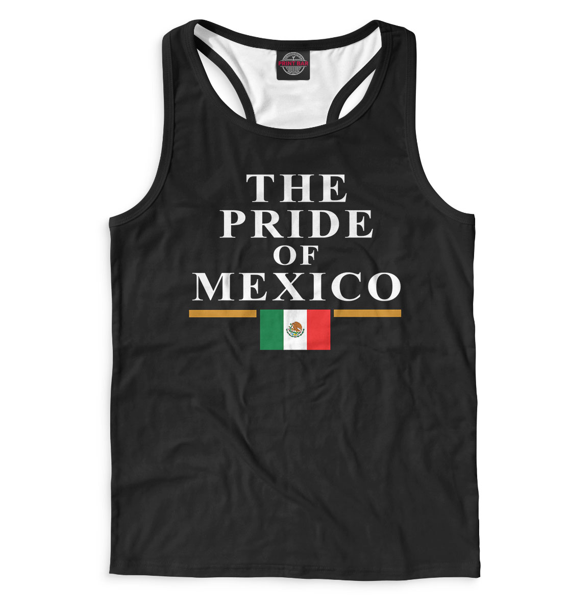 Купить The Pride of Mexico, Printbar, Майки борцовки, WWE-340406-mayb-2