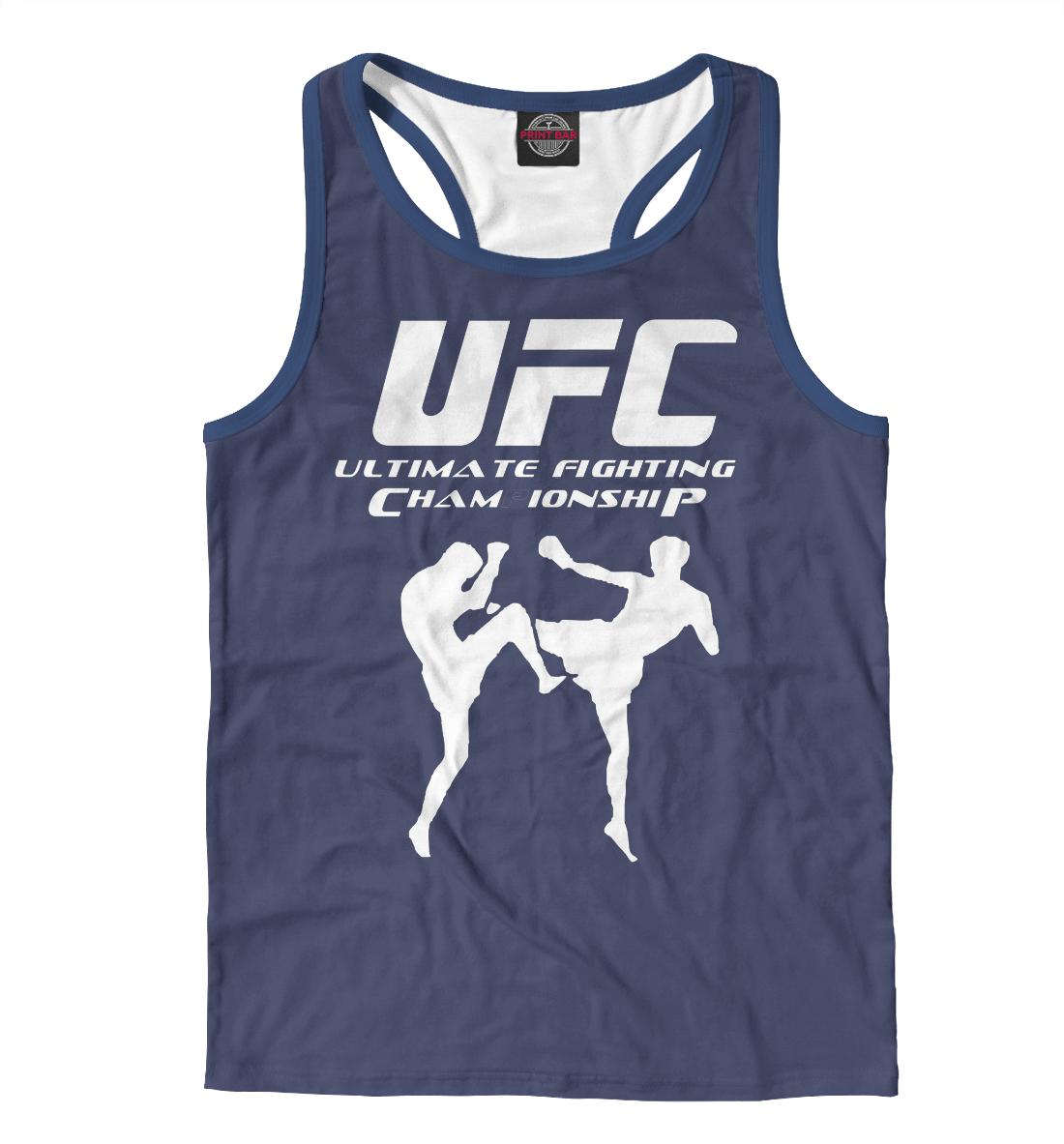 Купить UFC, Printbar, Майки борцовки, MNU-399454-mayb-2