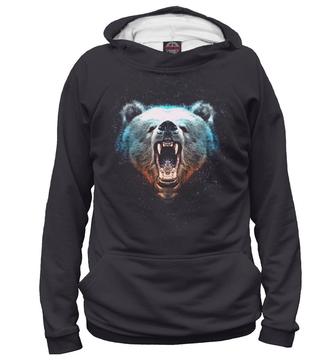 Купить Медведь Звезды, Printbar, Худи, MED-719240-hud-1