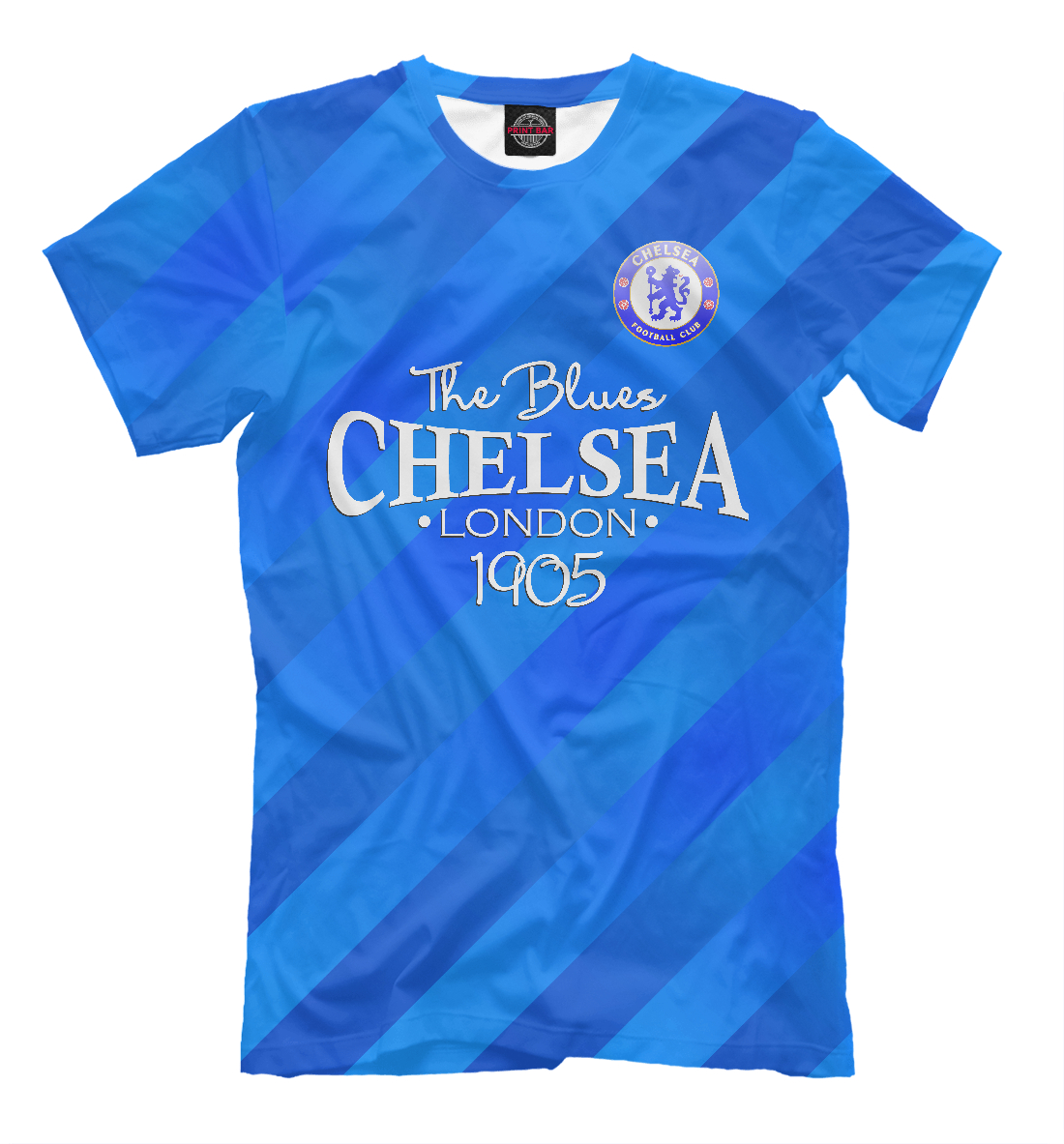 Купить Chelsea-The Blues, Printbar, Футболки, CHL-983514-fut-2