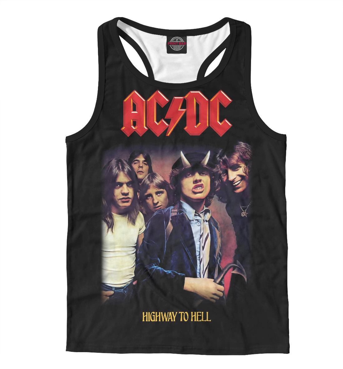 Купить AC/DC, Printbar, Майки борцовки, ACD-905196-mayb-2