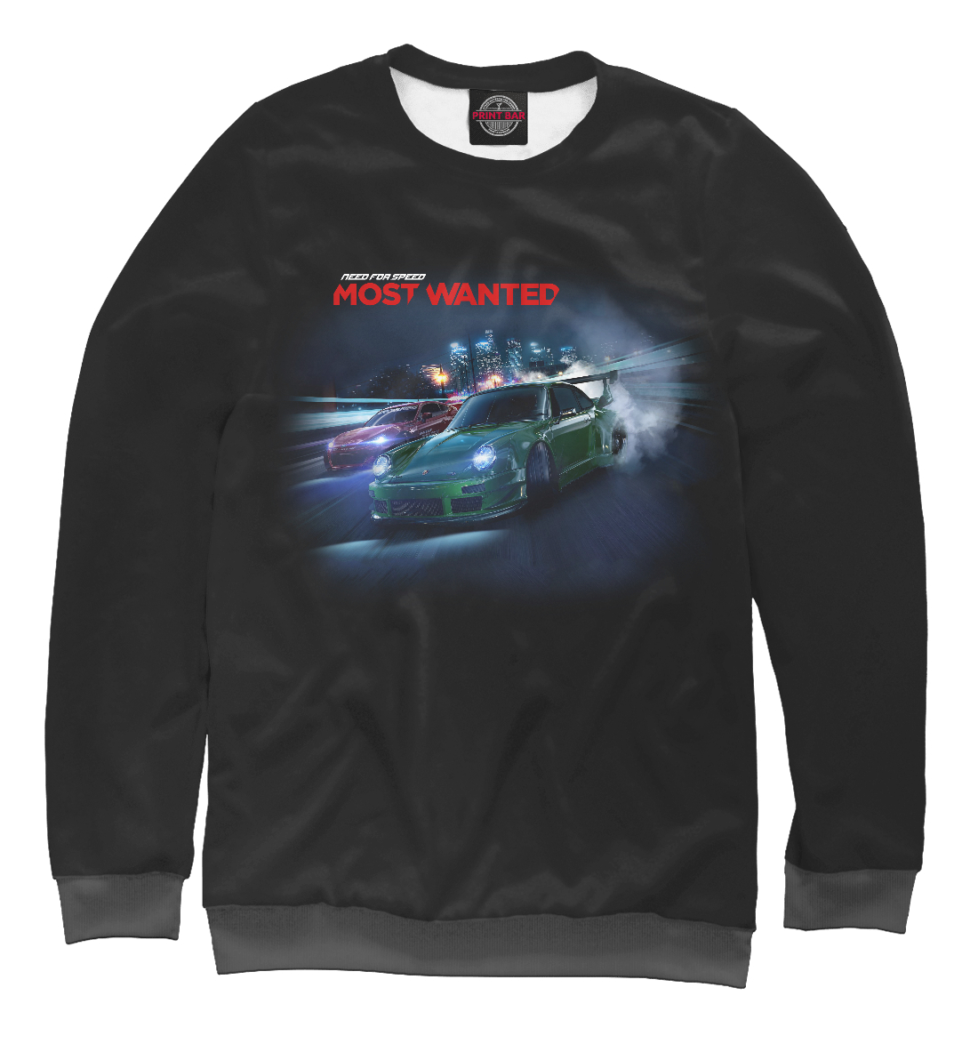 Купить Need for Speed, Printbar, Свитшоты, NFS-284445-swi-2