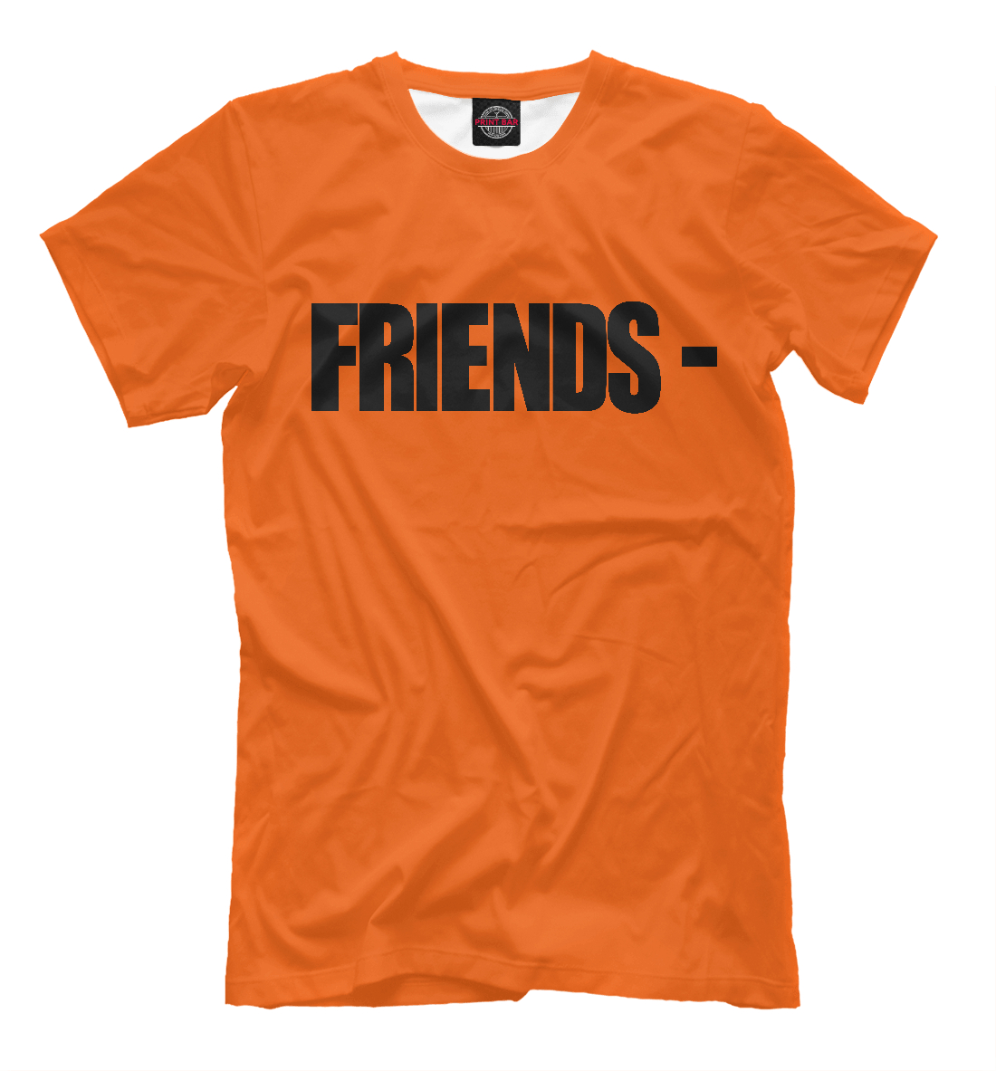 Купить Vlone Friends Orange, Printbar, Футболки, APD-577517-fut-2