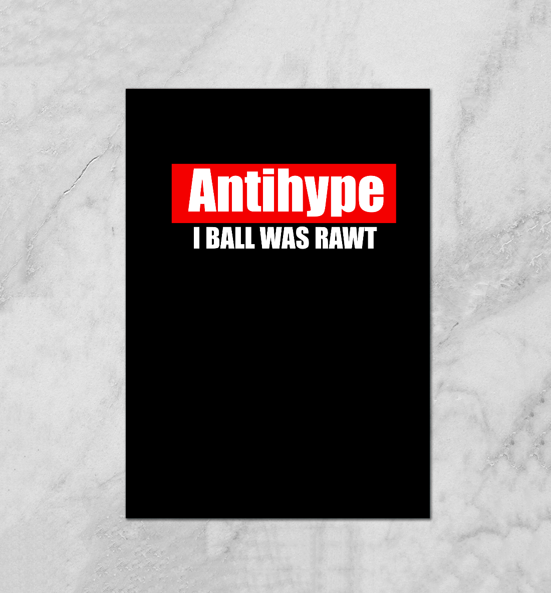 Купить Antihype, Printbar, Плакаты, NDP-999777-plk