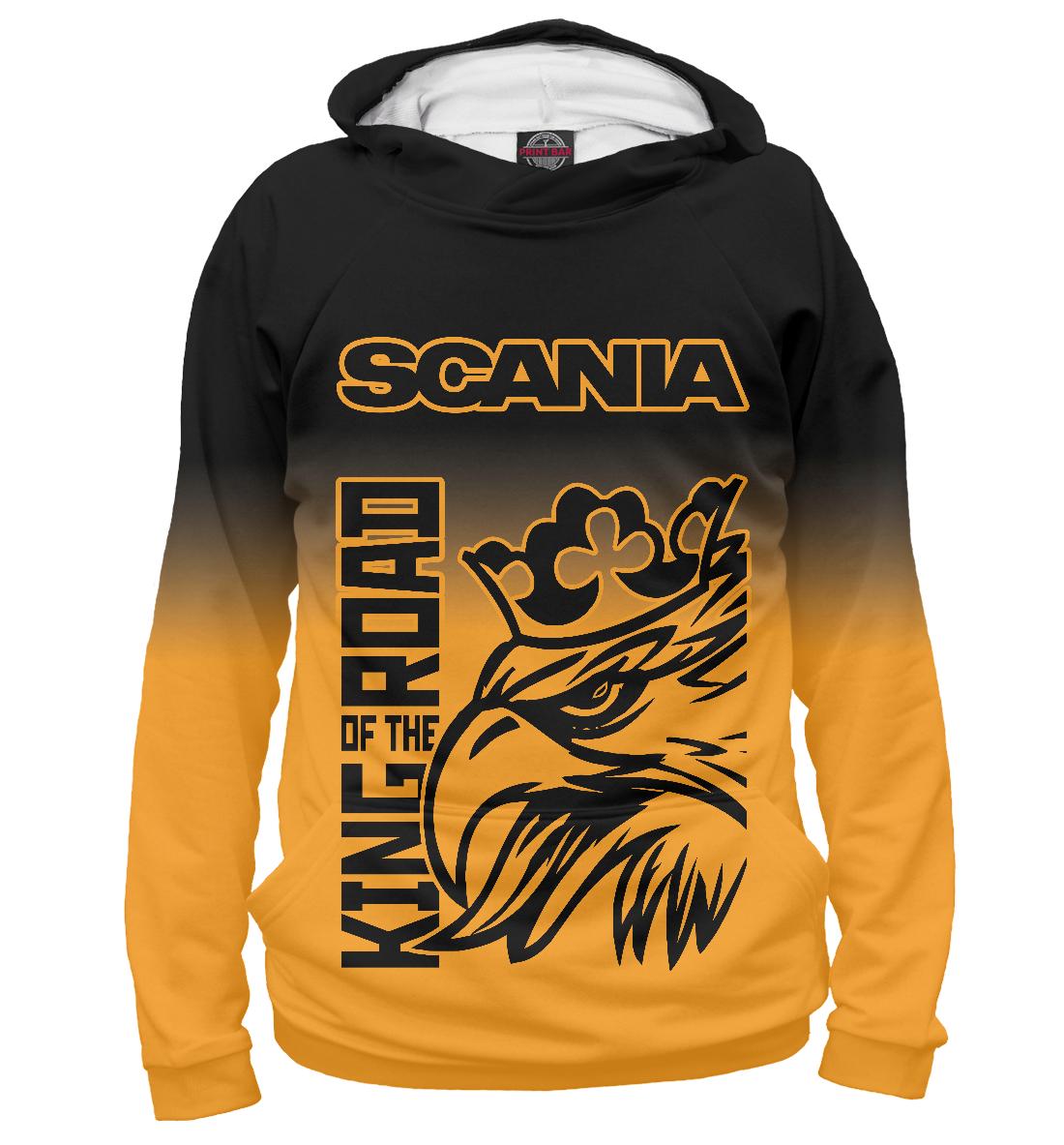 Купить SCANIA - King Of The Road, Printbar, Худи, GRZ-215981-hud-2
