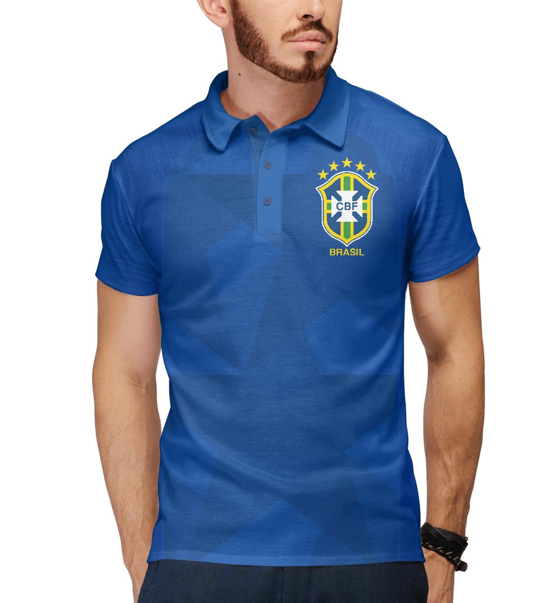 Купить Бразилия, Printbar, Поло, FNS-959264-pol-2