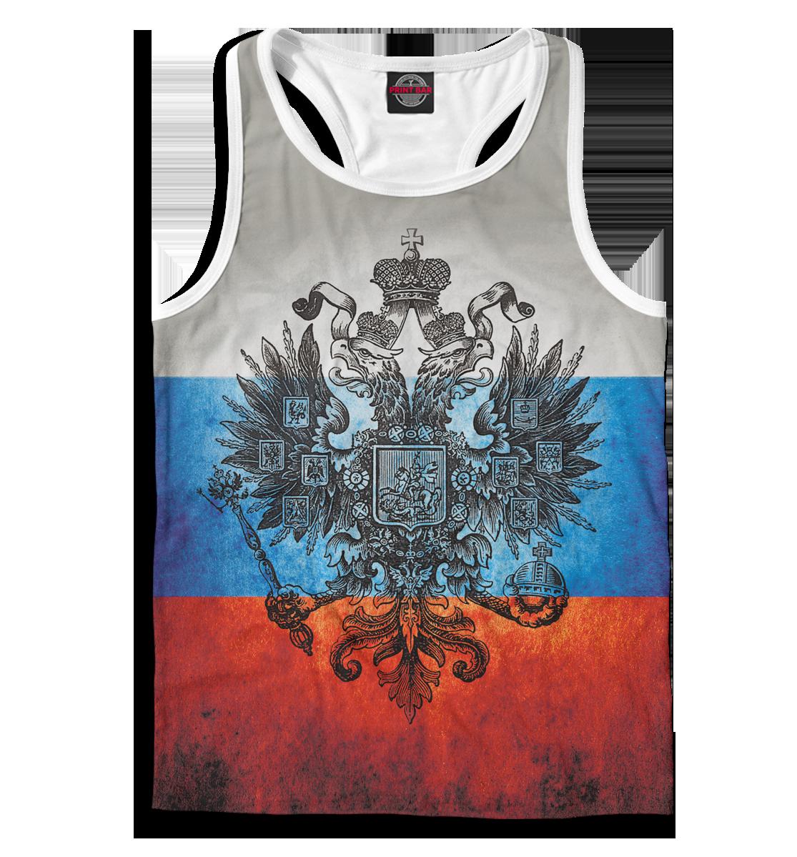 Купить Триколор и герб, Printbar, Майки борцовки, SRF-173871-mayb-2