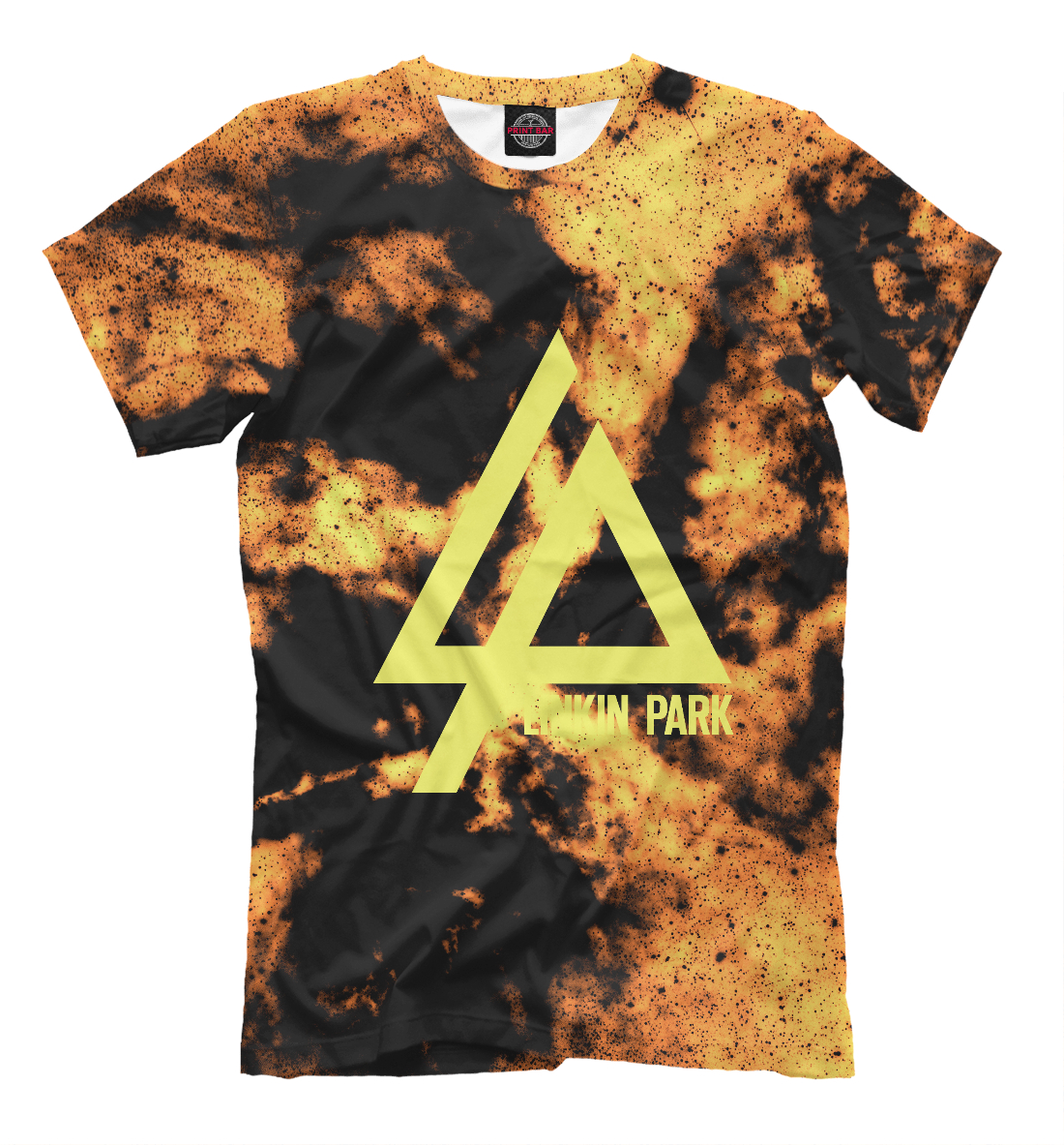 Купить Linkin Park Orange&Black collection, Printbar, Футболки, LIN-519169-fut-2