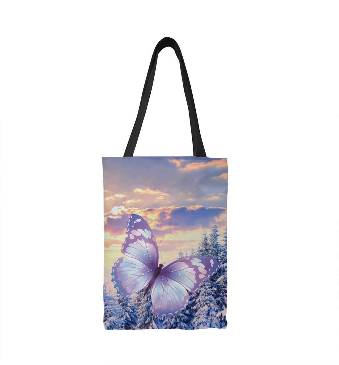 Фото - Зимняя бабочка зимняя стужа