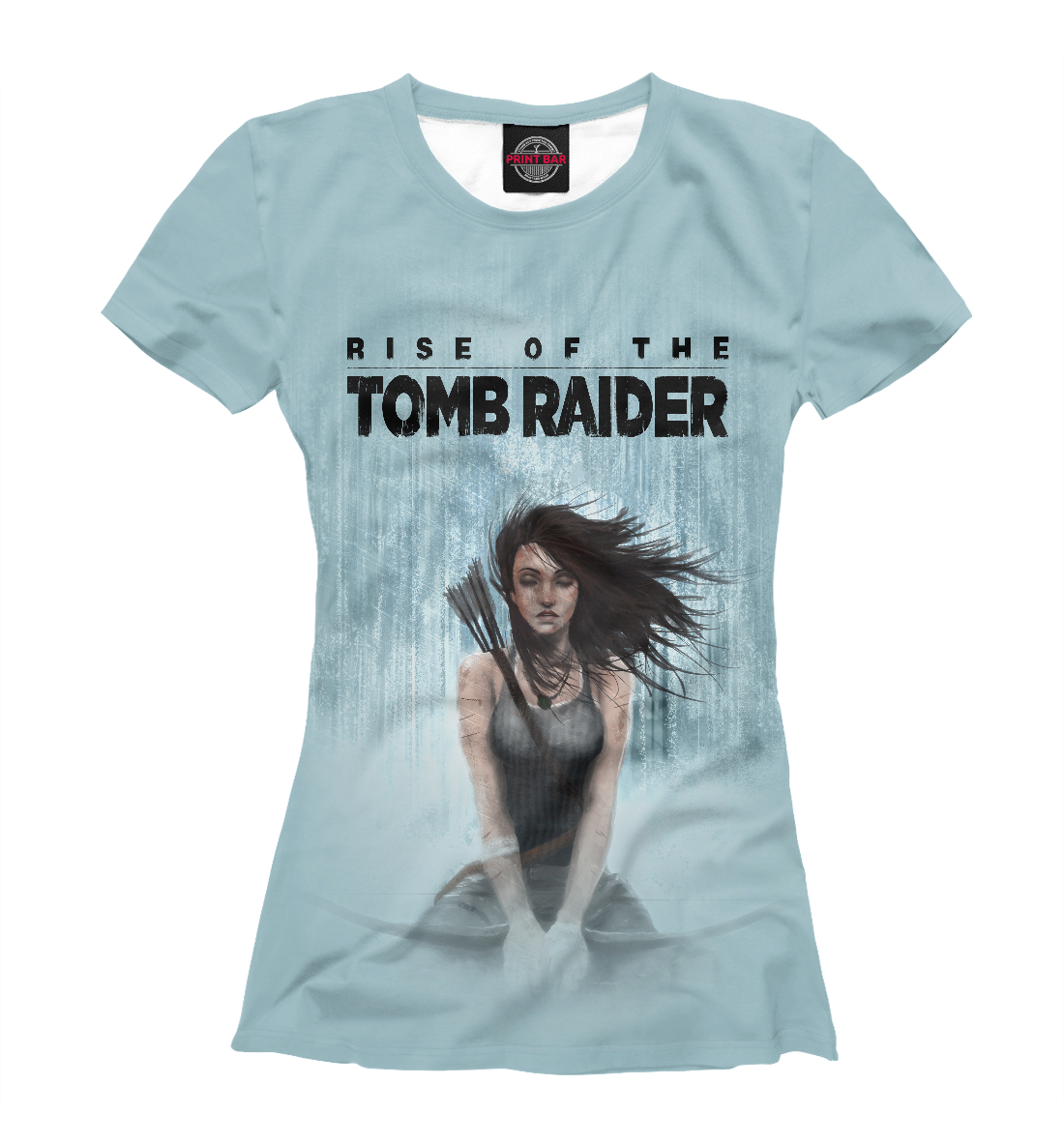 Купить Rise of The TOMB RAIDER, Printbar, Футболки, TBR-415599-fut-1
