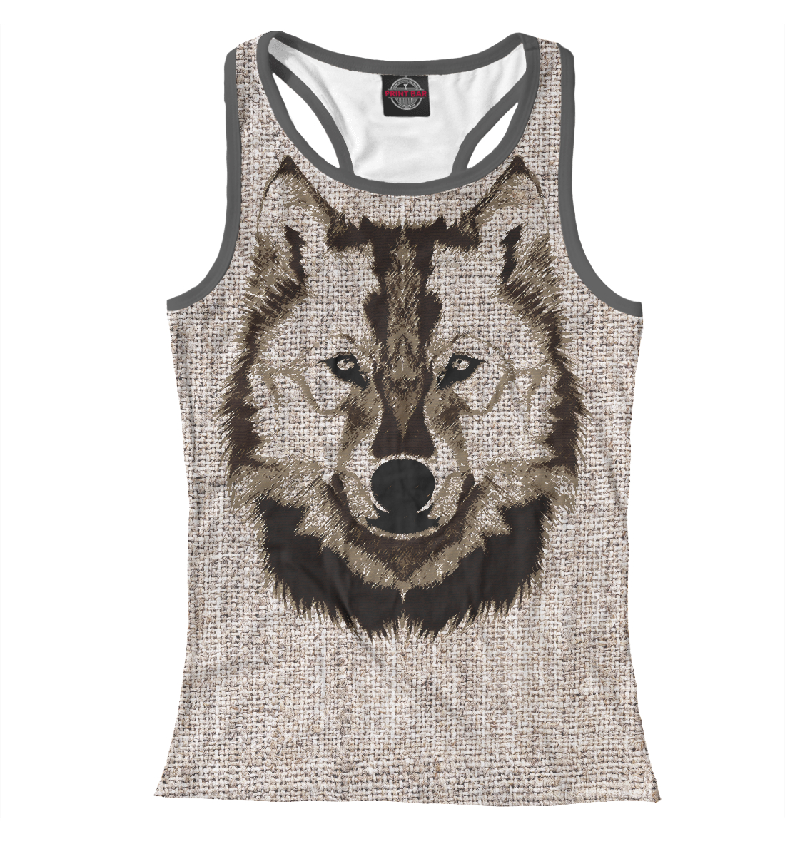 Купить Wolf Drawing, Printbar, Майки борцовки, VLF-967904-mayb-1