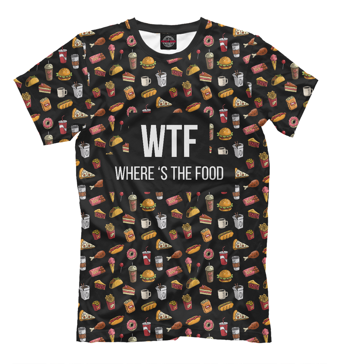 wtf where is the food WTF food