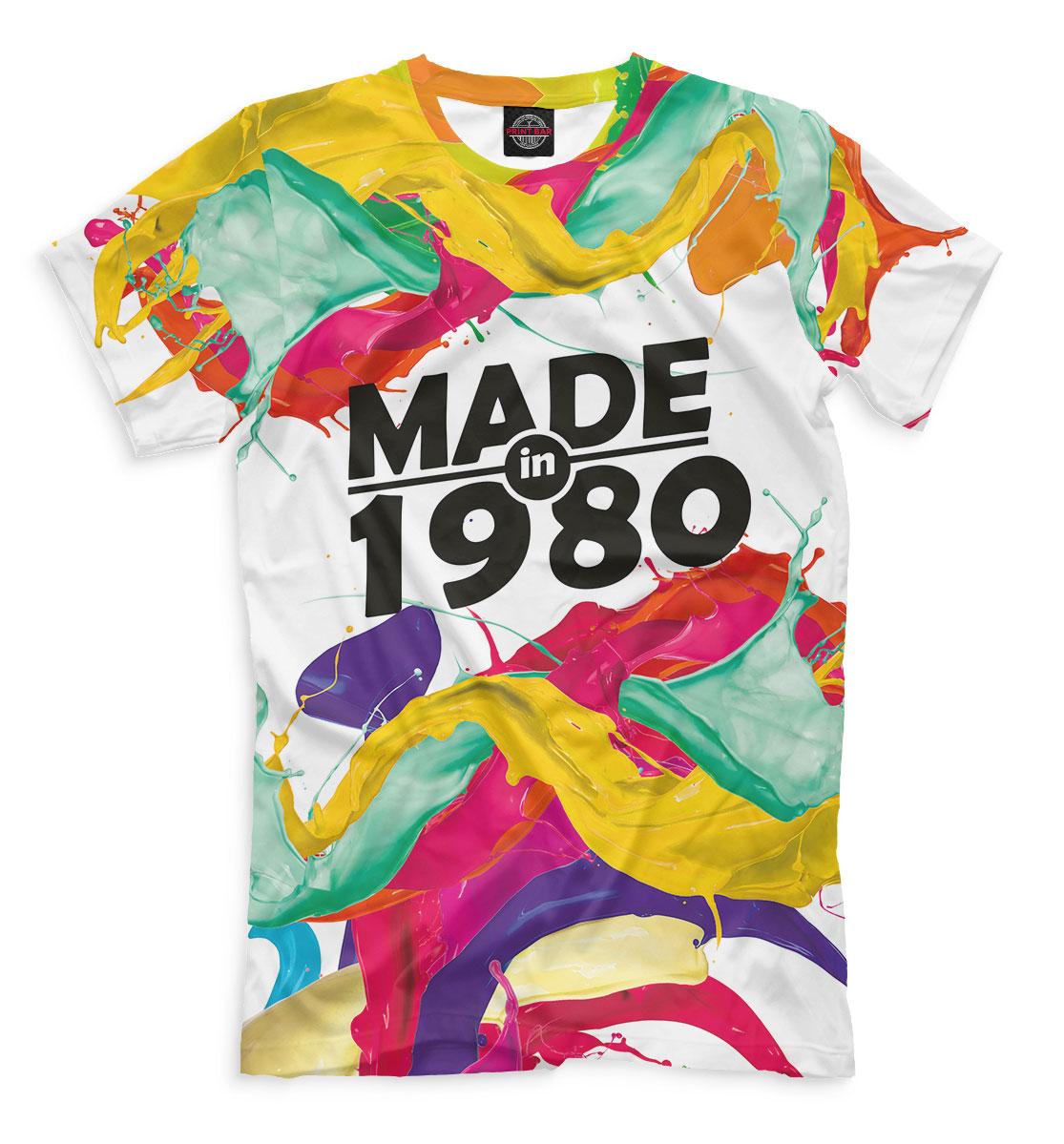 Купить Made in 1980, Printbar, Футболки, DVH-152551-fut-2