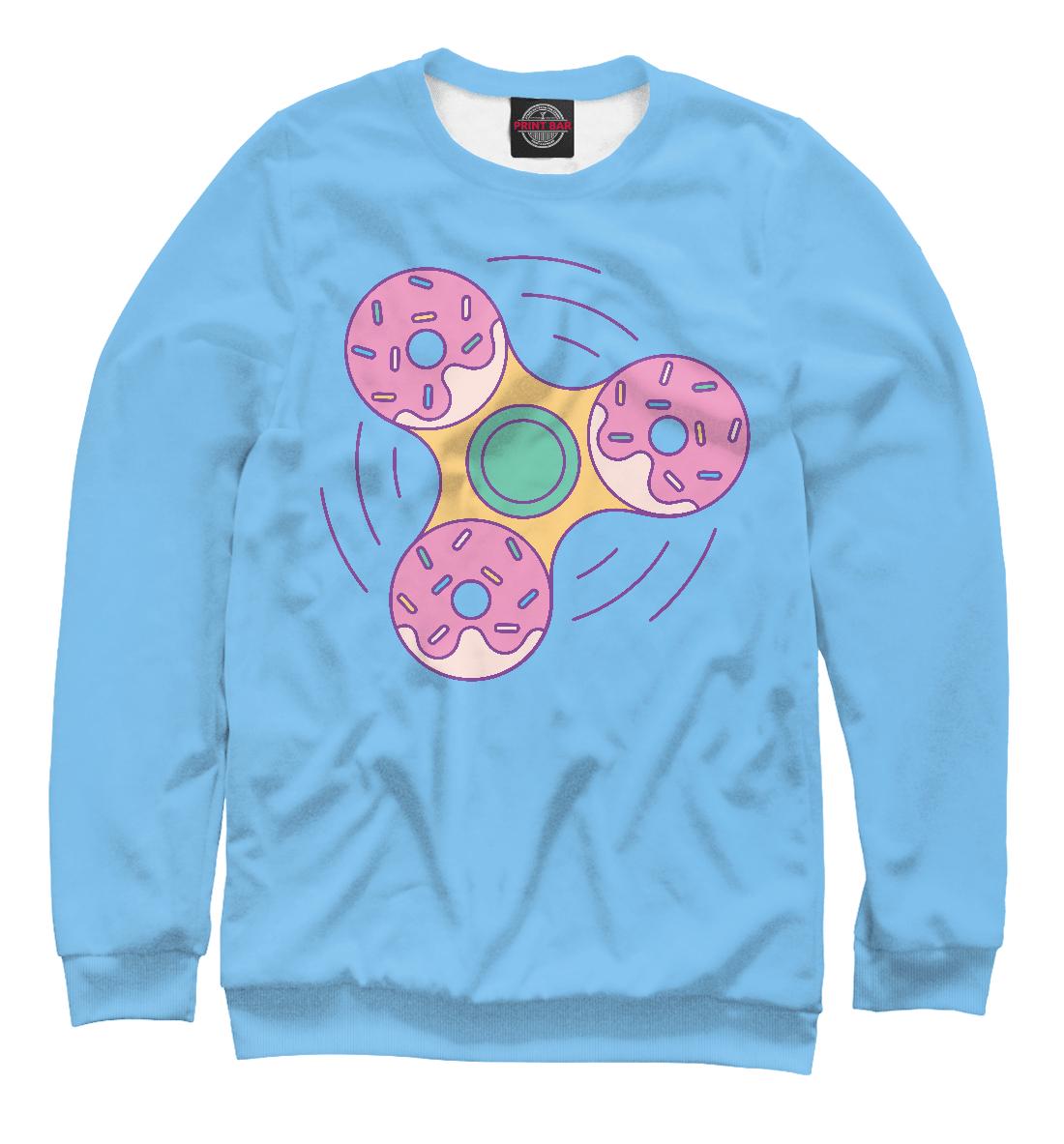 Купить Пончик Спиннер, Printbar, Свитшоты, SIM-848182-swi-2