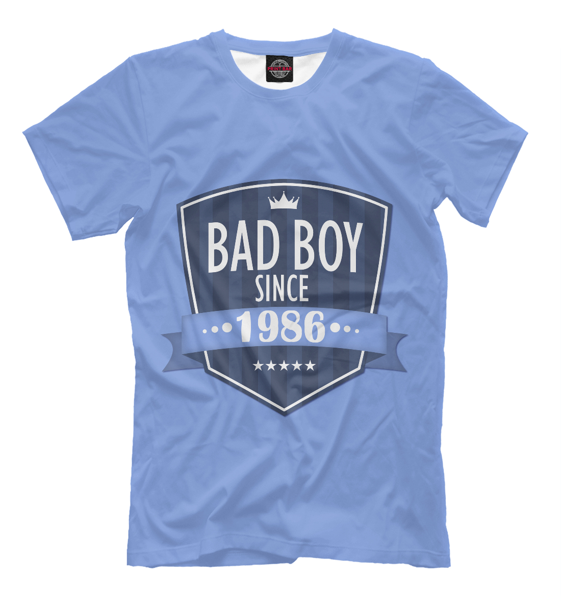 Купить Плохой мальчик с 1986, Printbar, Футболки, DVS-598040-fut-2