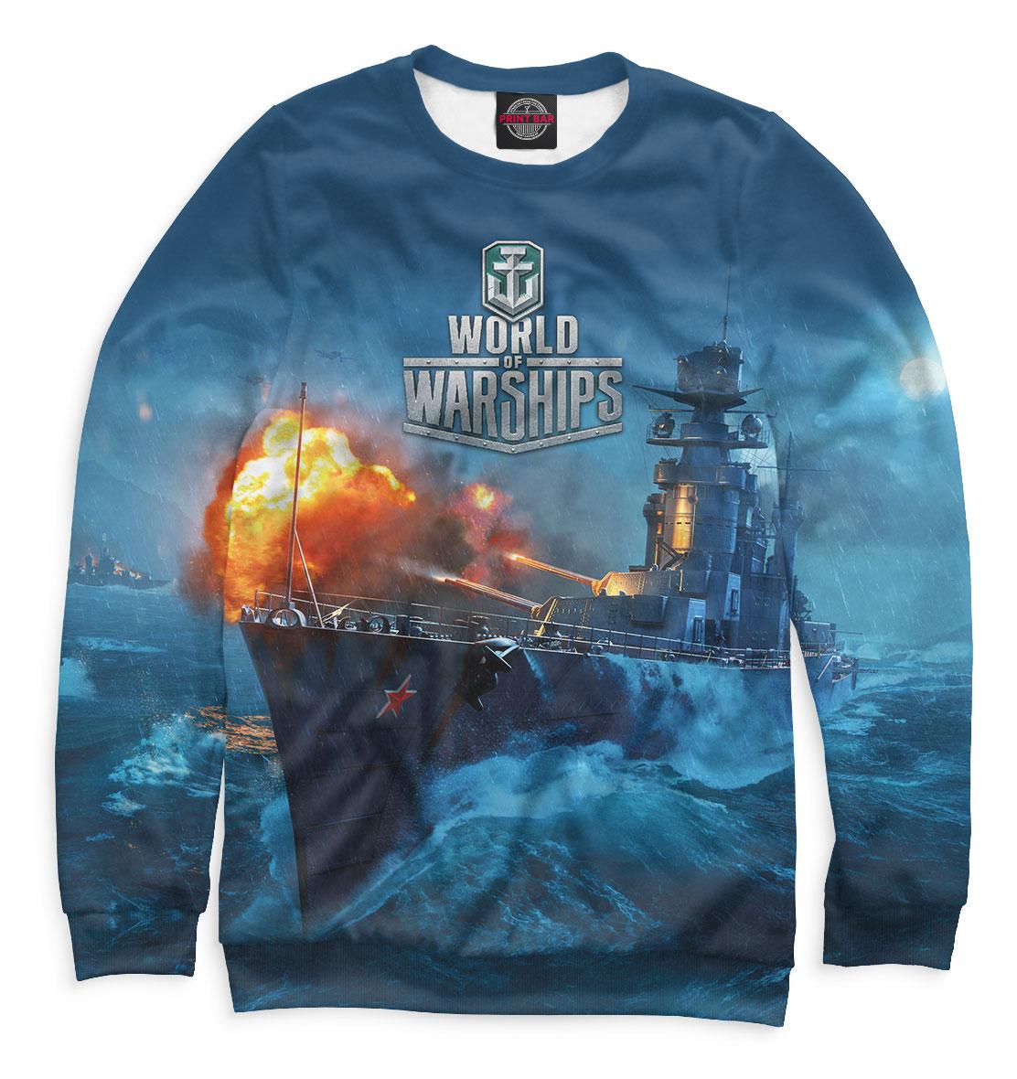Купить World of Warships, Printbar, Свитшоты, WOS-334047-swi-2