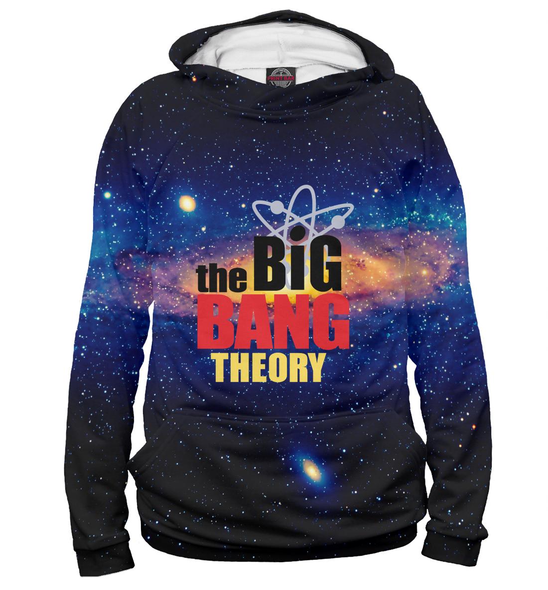 Купить Теория большого взрыва, Printbar, Худи, TEO-196231-hud-1
