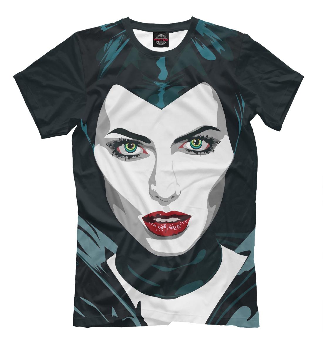 Купить Maleficent (Angelina Jolie), Printbar, Футболки, KNO-574359-fut-2