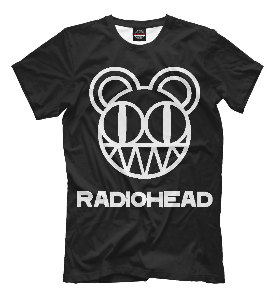 Купить Radiohead, Printbar, Футболки, MZK-692916-fut-2