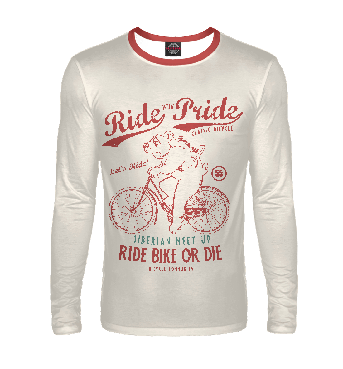 Ride with Pride tell it with pride