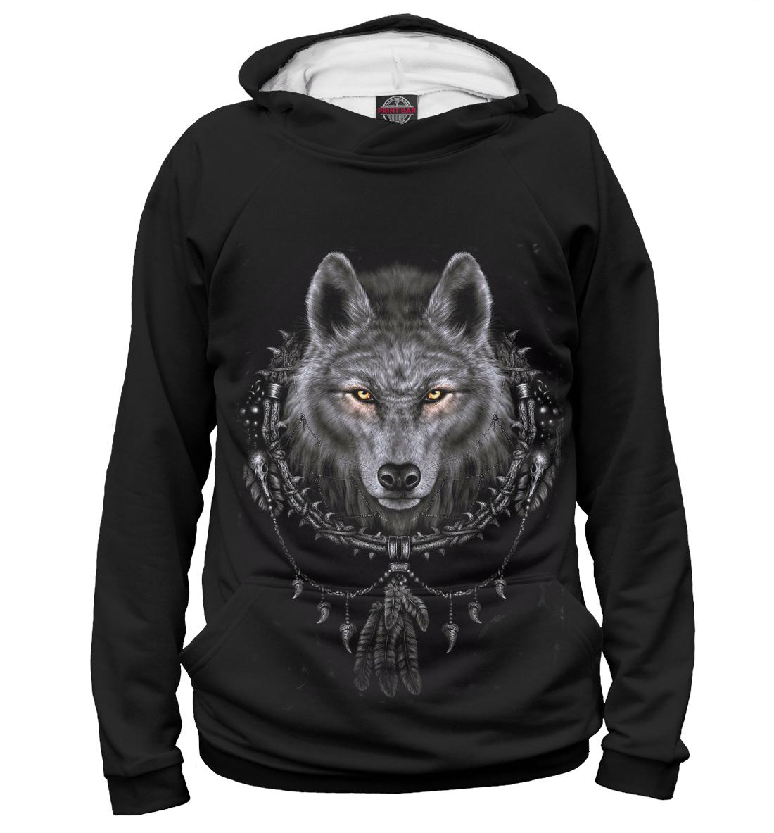 Волк, Printbar, Худи, VLF-702786-hud-1  - купить со скидкой