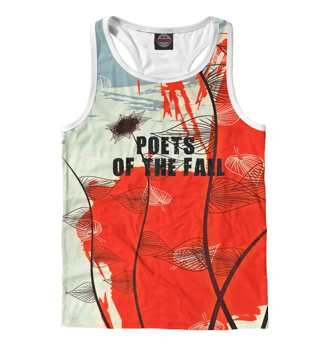 Купить Poets of the fall, Printbar, Майки борцовки, MZK-219057-mayb-2