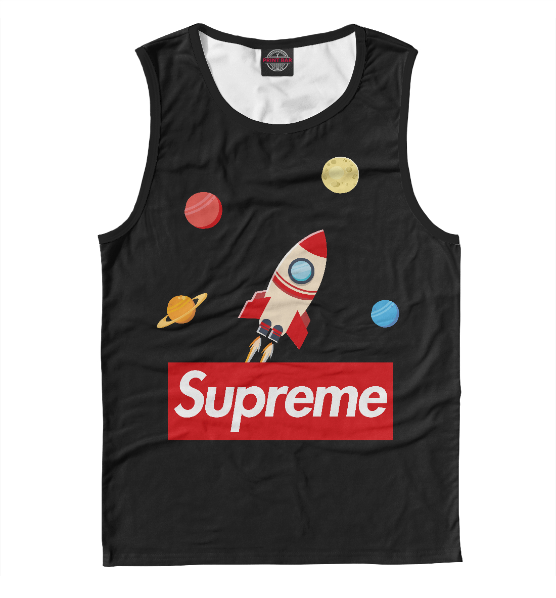 Купить Supreme Space, Printbar, Майки, SPR-917854-may-2