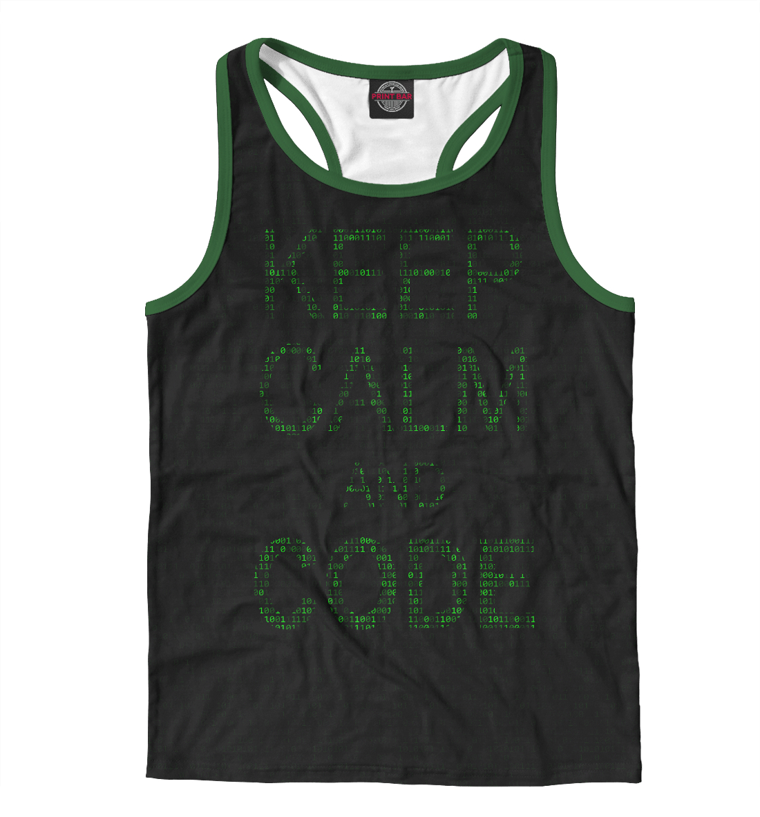 Купить Keep calm and code, Printbar, Майки борцовки, ITT-121858-mayb-2