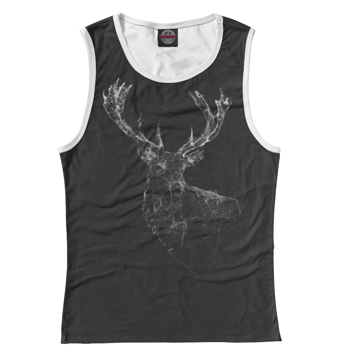 Купить Triangular Deer, Printbar, Майки, HIP-432231-may-1