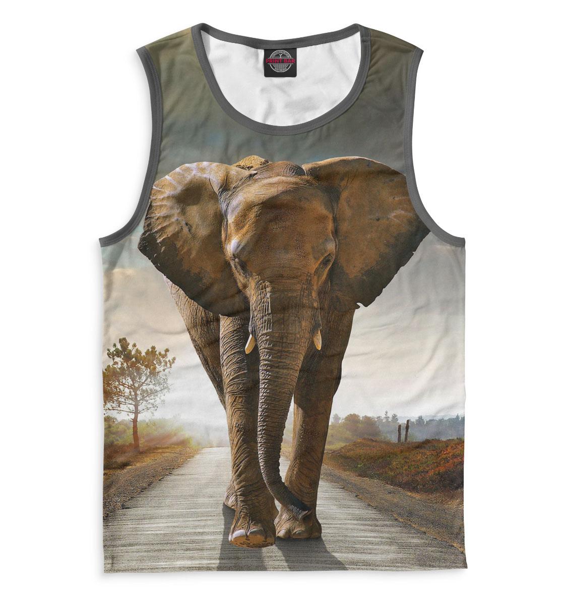 Купить Слоны, Printbar, Майки, SLO-336969-may-2