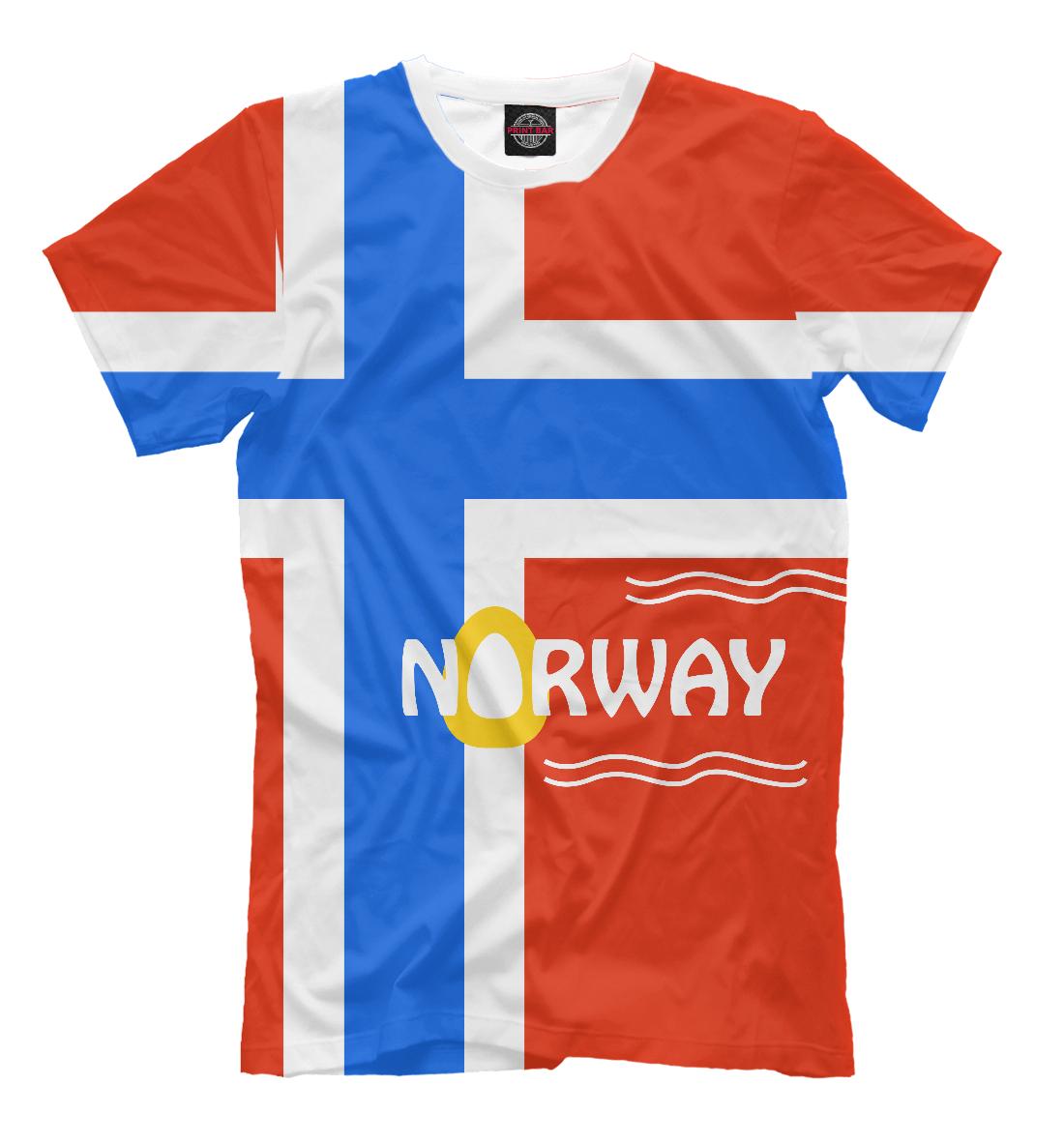 Купить Норвегия, Printbar, Футболки, CTS-292150-fut-2