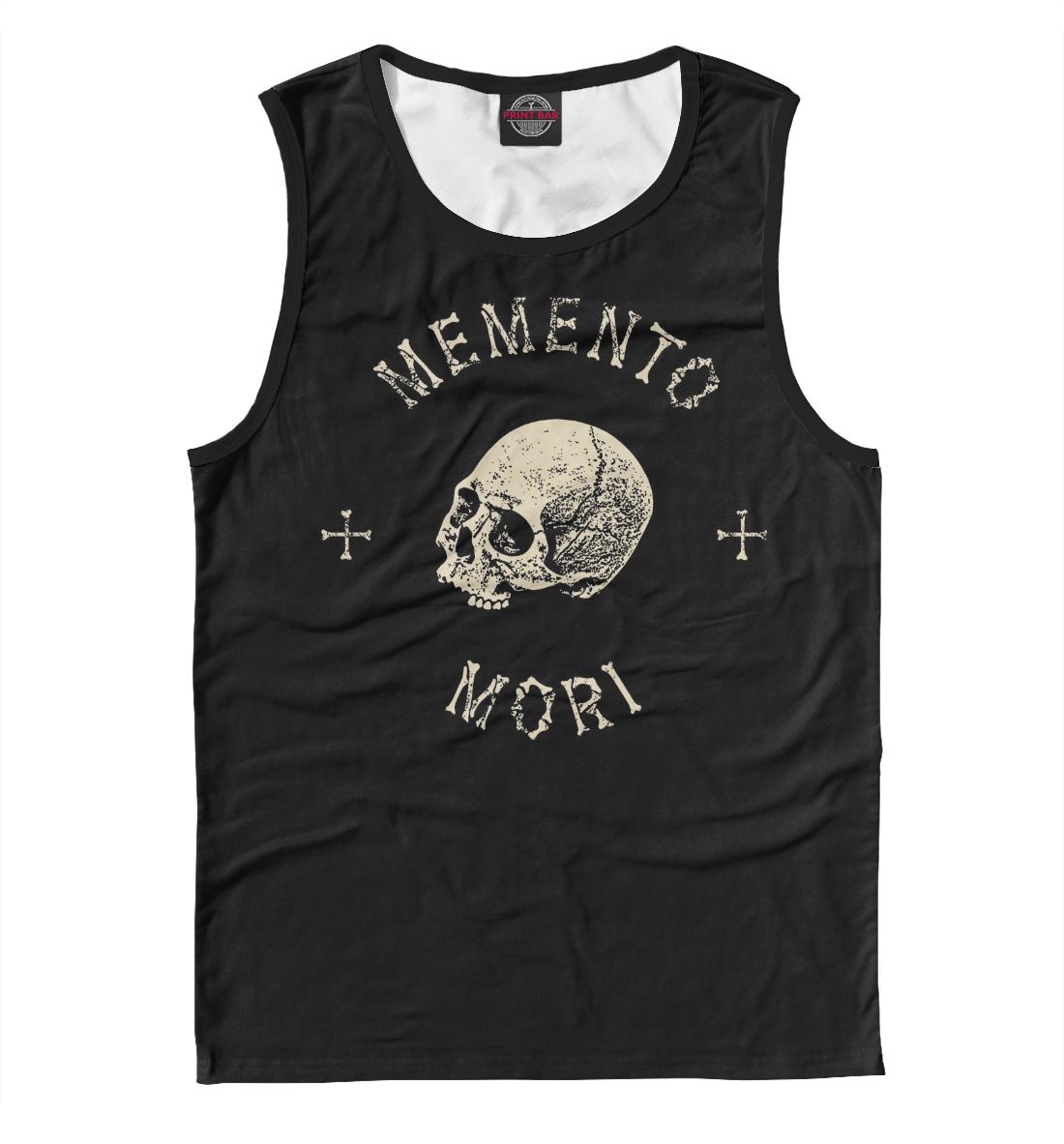 Купить Memento mori, Printbar, Майки, SKU-538470-may-2