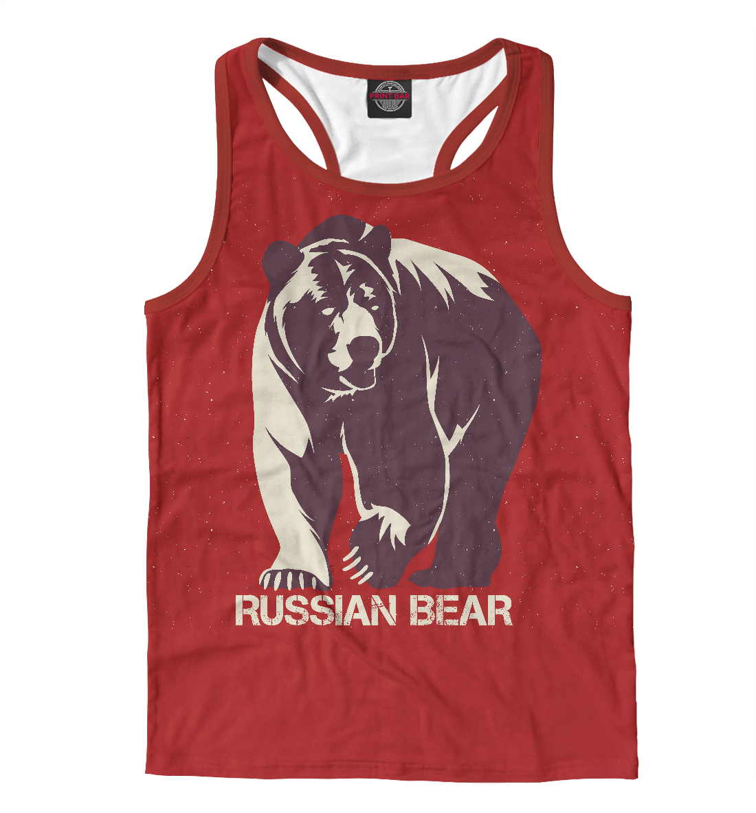 Купить Russian Bear, Printbar, Майки борцовки, MED-816607-mayb-2