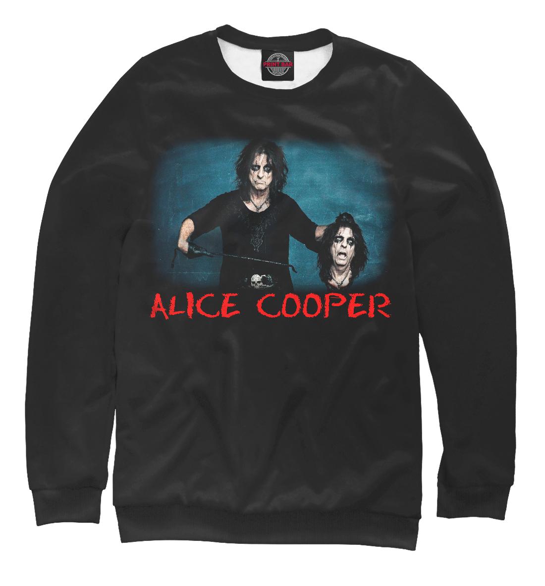 Купить Элис Купер - heavy metal, Printbar, Свитшоты, MZK-811773-swi-2