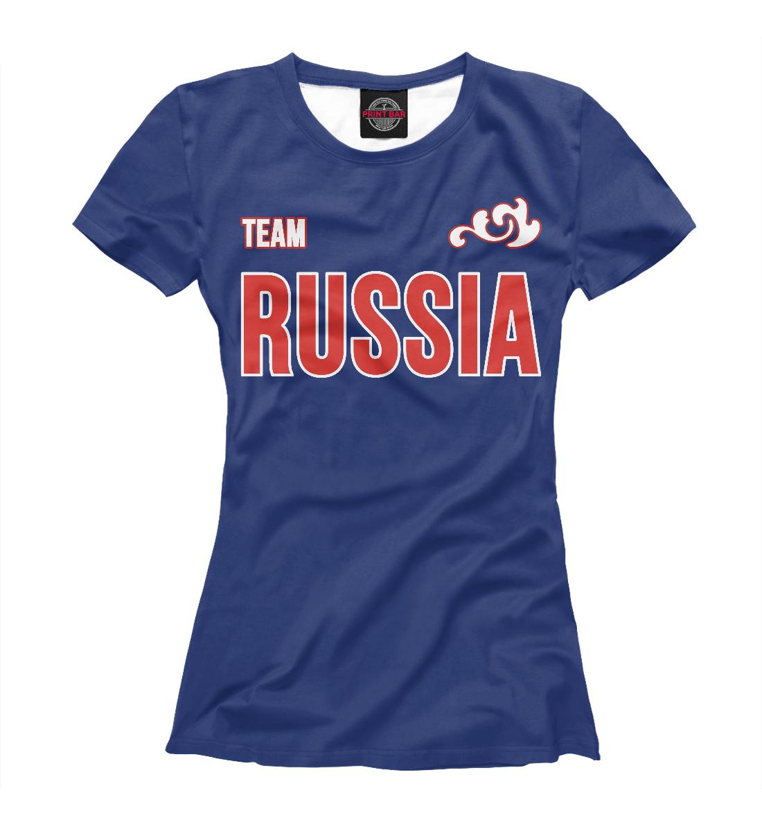 Купить Team Russia, Printbar, Футболки, VSY-729400-fut-1