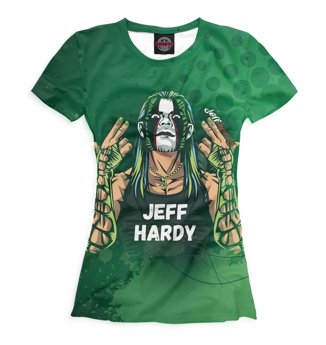 Джефф Харди, Printbar, Футболки, WWE-147290-fut-1  - купить со скидкой