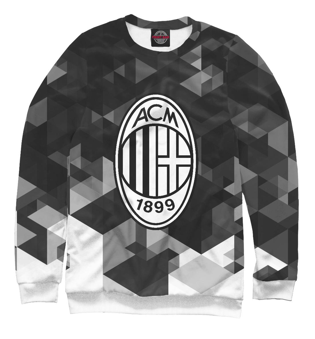 Купить AC Milan Sport Black&White, Printbar, Свитшоты, ACM-606628-swi-1