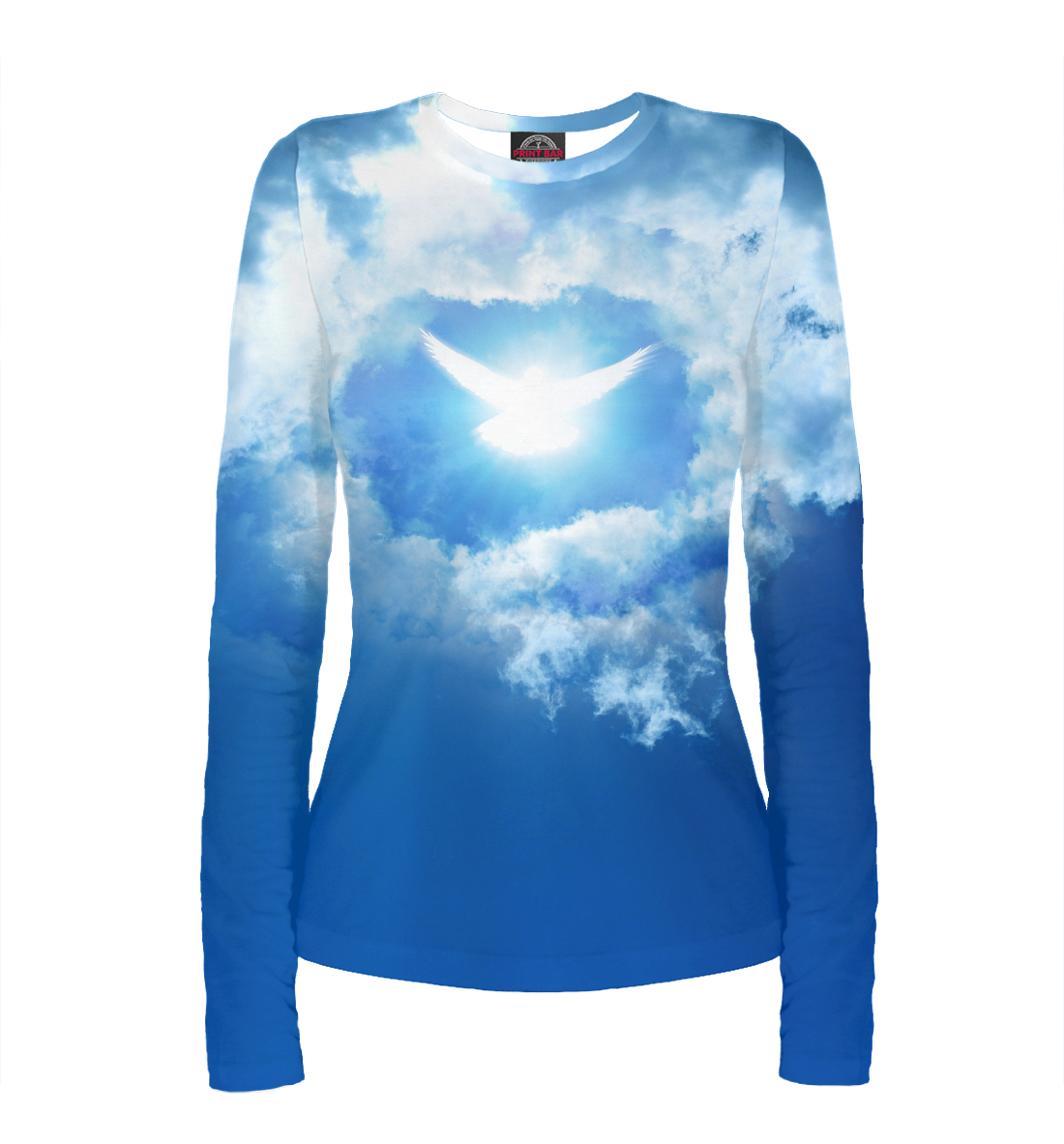 Фото - Голубь в небе огненный голубь