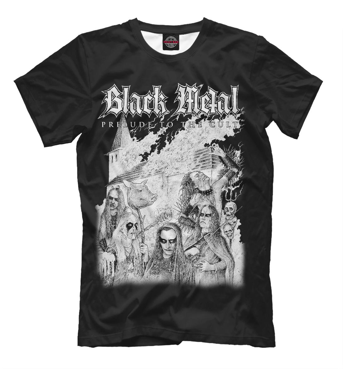 Купить Black Metal, Printbar, Футболки, MZK-267645-fut-2