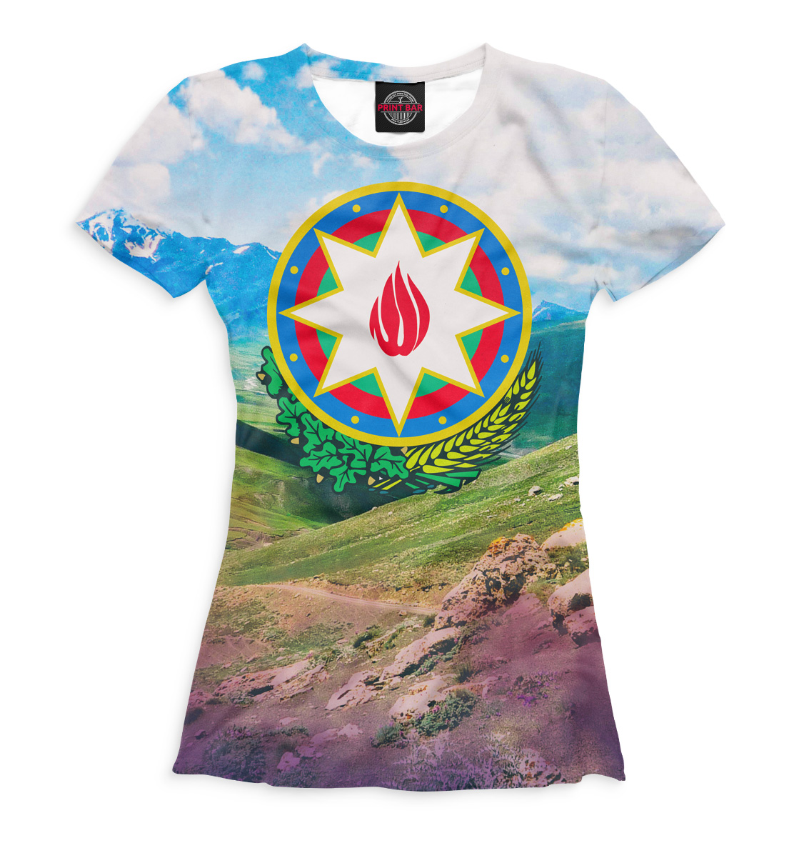 Купить Азербайджан, Printbar, Футболки, CTS-373708-fut-1