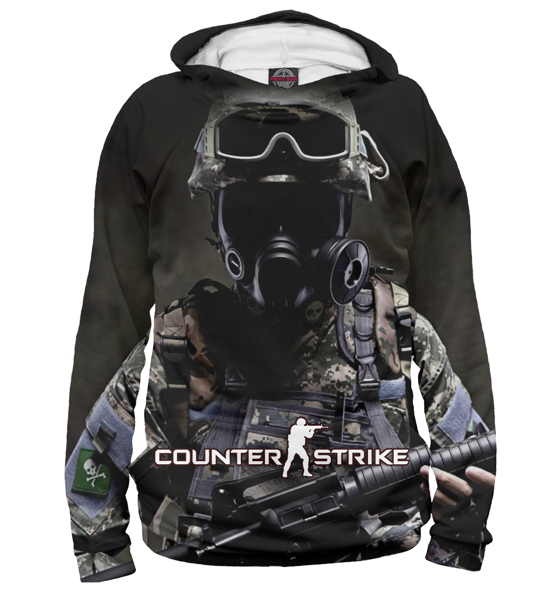 Купить Counter Strike, Printbar, Худи, COU-961839-hud-2