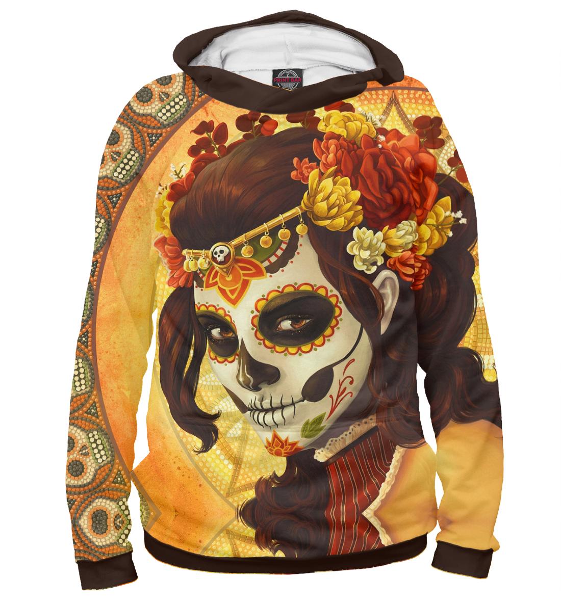 Купить День мёртвых, Мексика, Printbar, Худи, CTS-450210-hud-1