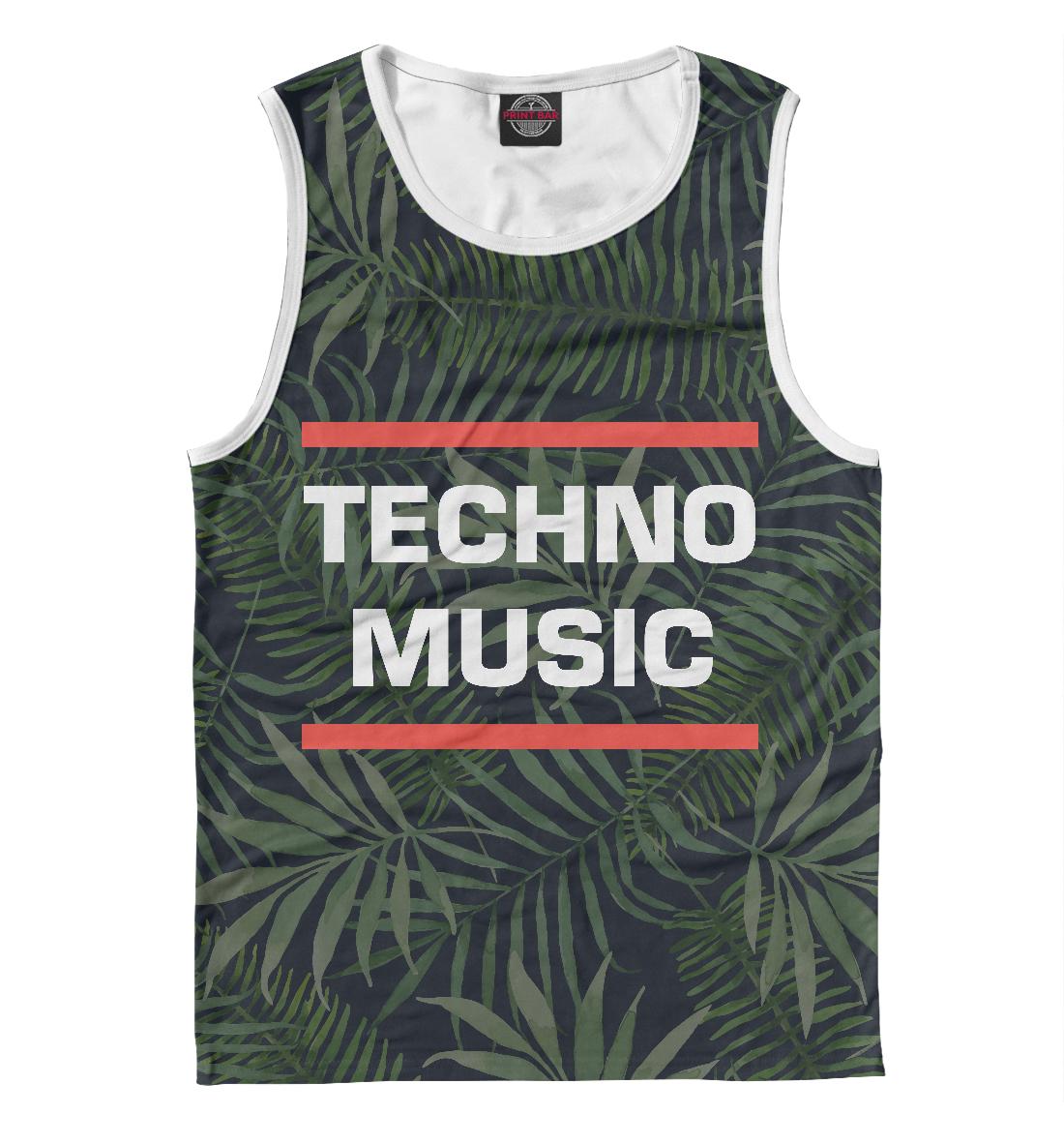 Купить Techno music, Printbar, Майки, DJS-313981-may-2