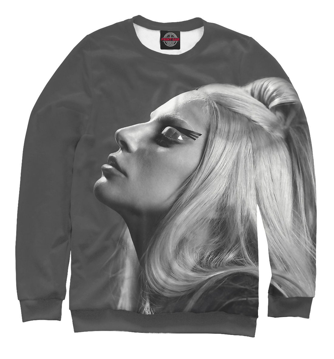 Купить Lady Gaga, Printbar, Свитшоты, ZNR-147568-swi-1